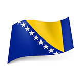 State flag of Bosnia and Herzegovina