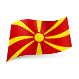 State flag of Macedonia