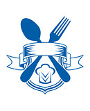 Restaurant or caterers emblem