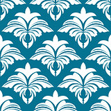 Azure seamless pattern