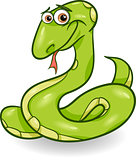 cute snake cartoon illustration