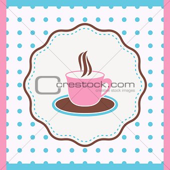 Card with cup