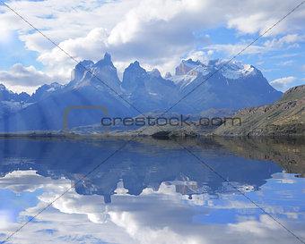 Cuernos del Paine mountains.