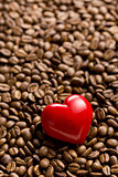heart of stone on coffee beans
