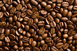 pattern of coffee beans background
