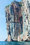 Beautiful rock in  Phi Phi Ley