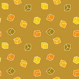 Abstract design background - cubes