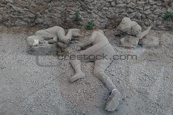 man dead in pompeii