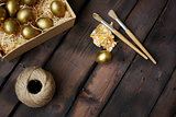 Easter in gold