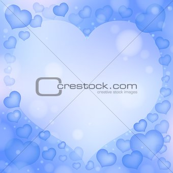 Abstract image with heart theme 3