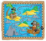 Treasure map theme image 7