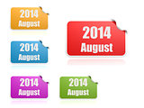August of 2014
