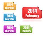 February of 2014