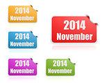 November of 2014