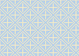 Plus Sign and Rectangle Pattern on Pastel Color