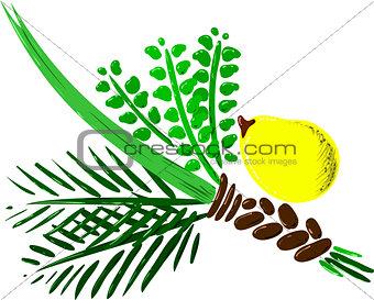 Four Species for Rosh Hashana Version 2