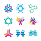 nanotechnology icons