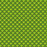 backdrop 3d concentric pipes pattern in green yellow