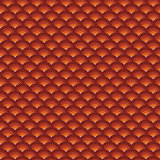 backdrop 3d concentric pipes pattern in orange red