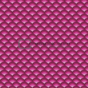 backdrop 3d concentric pipes pattern in pink
