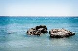 Desert island by Crete