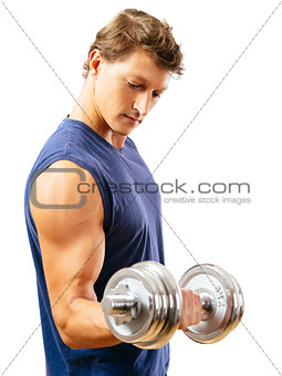 Exercising the biceps