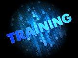 Training on Dark Digital Background.