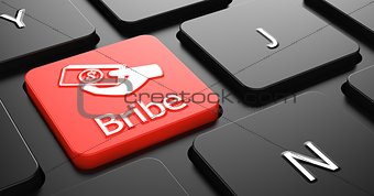 Bribe on Red Keyboard Button.