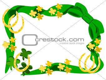 bow gold horseshoes