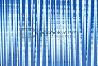 Abstract blue draped background.