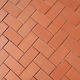 sidewalk from red bricks