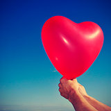 heart-shaped balloon