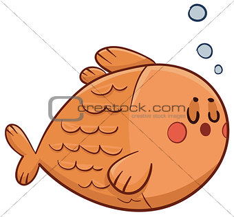 Cute Fish Swimming