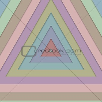 Abstract vector retro design