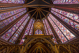 Sainte Chapelle church,  Paris, France
