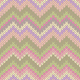Style Seamless Knitted Pattern. Fashion Light Color Swatch
