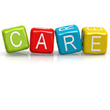 Care cube word