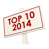 Top 10 2014 white banner