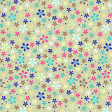 Flower seamless light fun color paper pattern