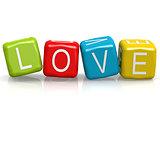 Love cube word
