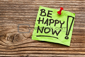 be happy now reminder note