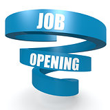 Job opening blue helix banner