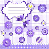 Scrapbooking design elements set