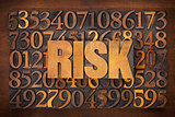 risk word in wood type