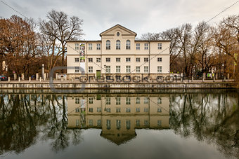 Alpines Museum in the Bank of Isar River in Munich, Upper Bavari