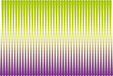 Green and violet halftone