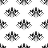 Seamless pattern for damask style fabric
