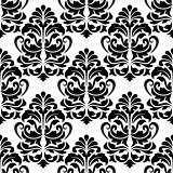 Heavy arabesques seamless pattern
