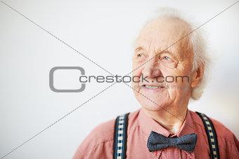 Aged man