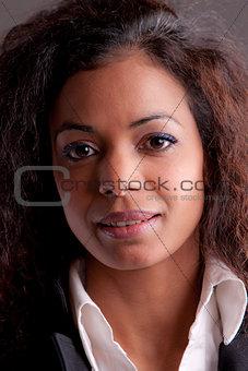 Beautiful woman self confident